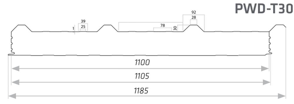 Nietypowy Okaz Włastal | Producent blachy - płyta warstwowa dachowa styropian 150 ML29
